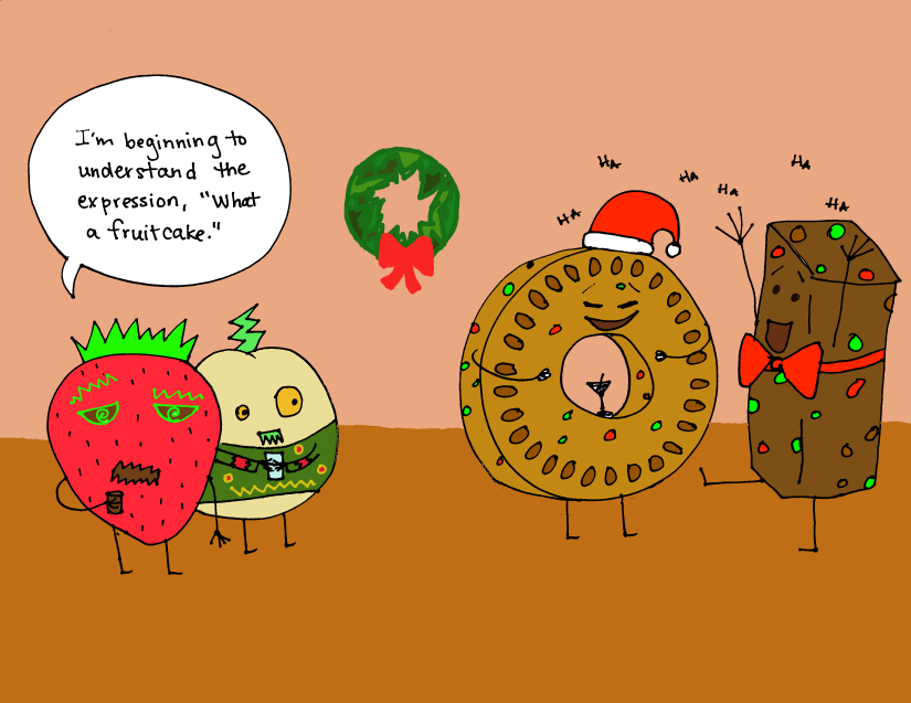 fruitcake-party