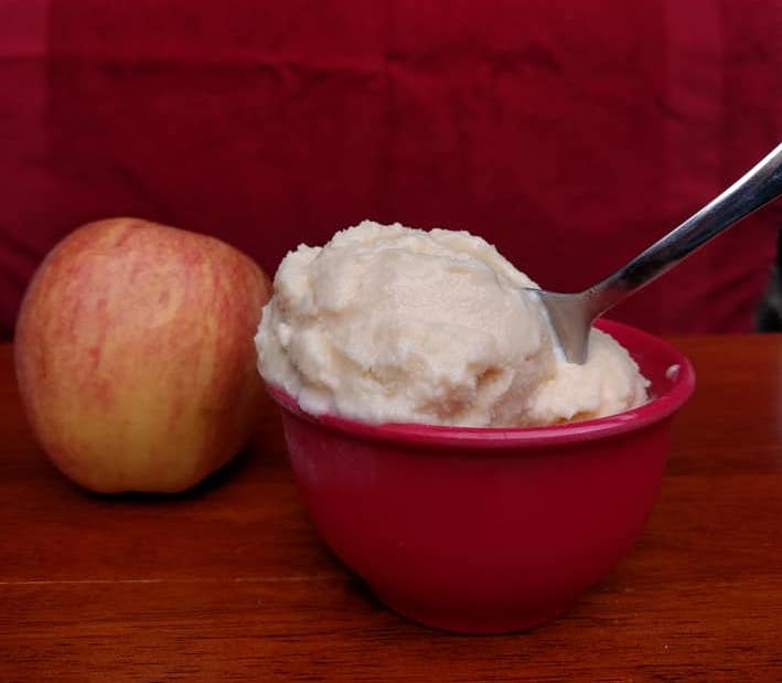 apple ice cream