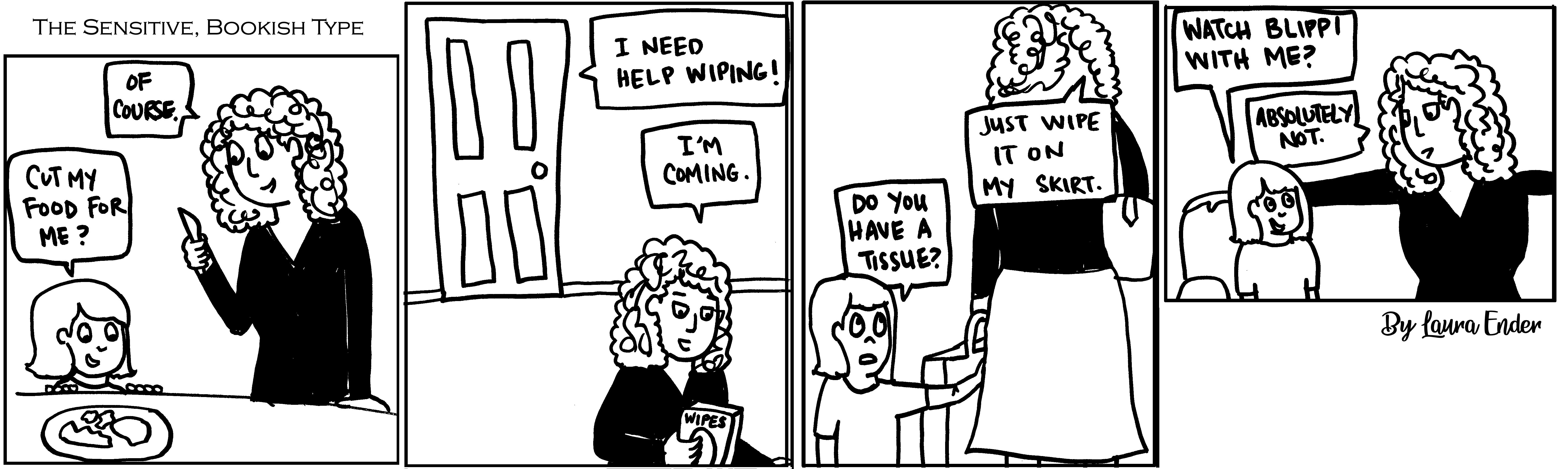 Blippi Comic